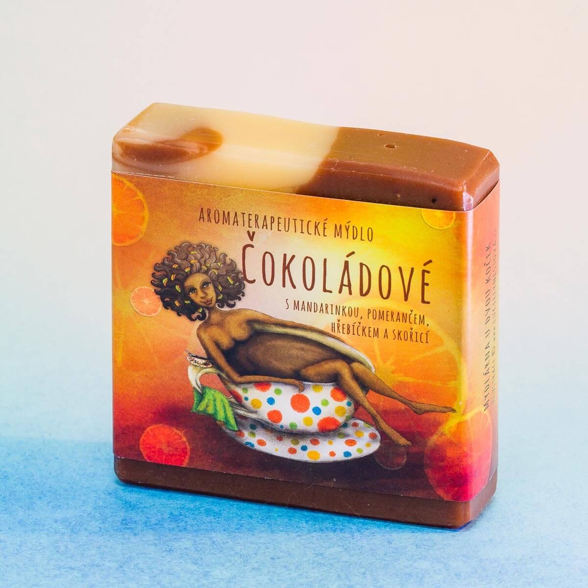 Mýdlo čokoládové