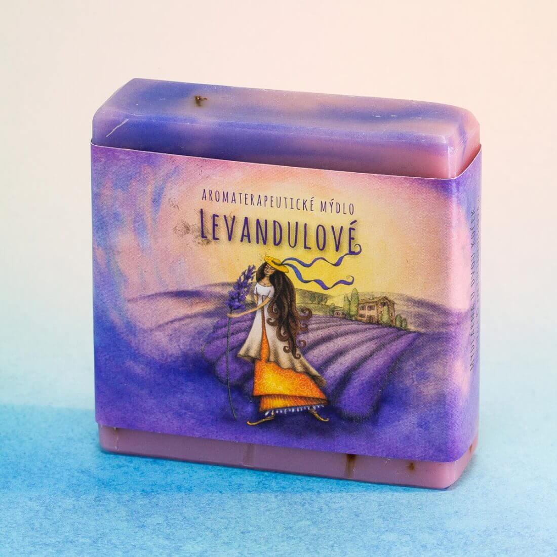Mýdlo Levandulové