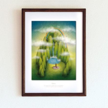 obrázek Pokora - A4-rámeček