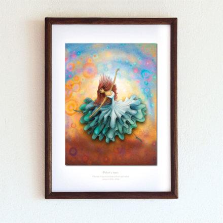 obrázek Tanec - A4-rámeček
