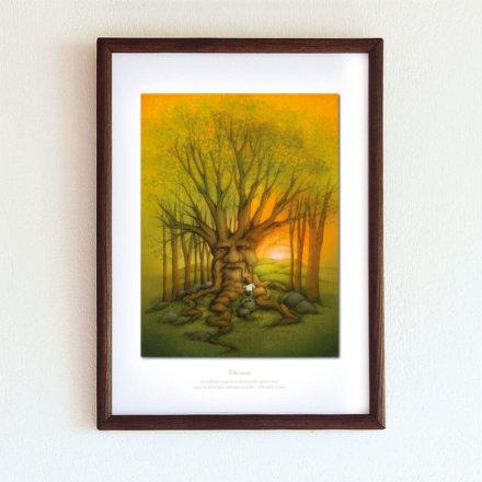 obrázek Vděčnost - A4-rámeček