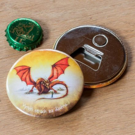 Magnet s otvírákem Drak