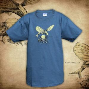 Tričko Ryba - modrá