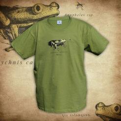 Tričko Žába - zelená
