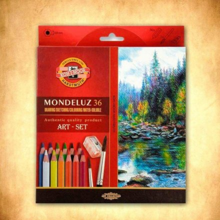 pastelky Mondeluz 36