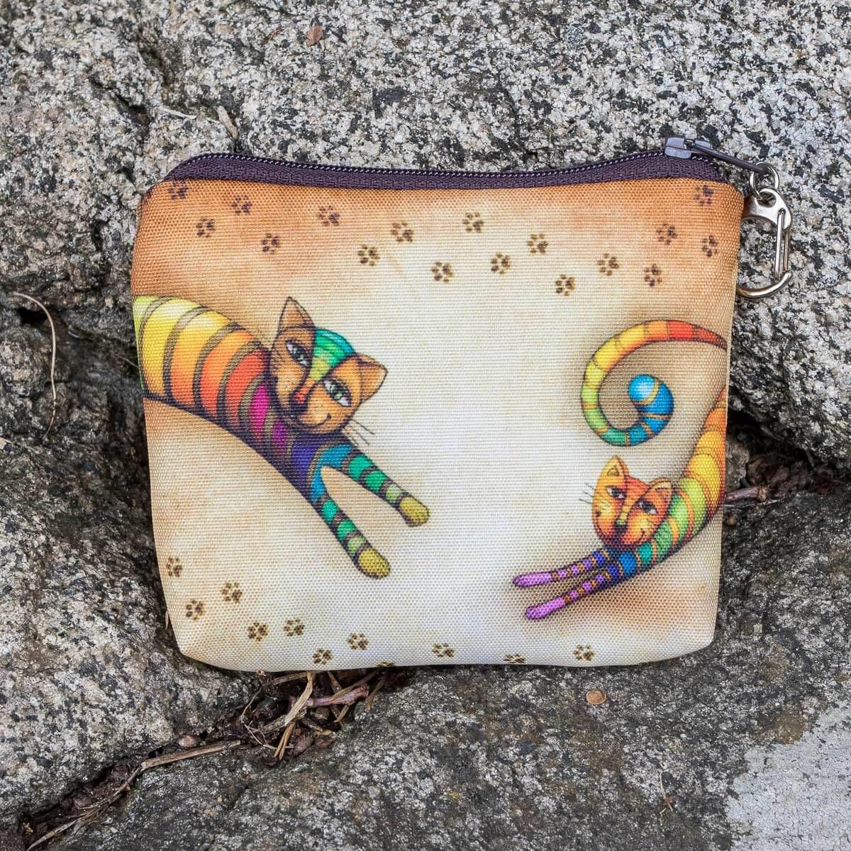 peněženka Duhová kočka