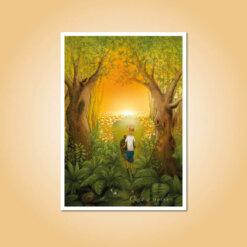 pohlednice Cesta ze smutku