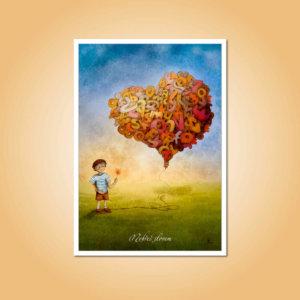 pohlednice Nehřeš slovem