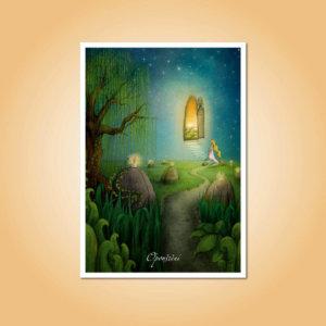pohlednice Opouštění