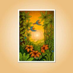 pohlednice Příroda