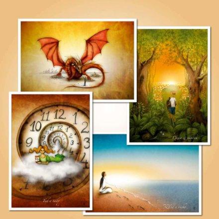Sada pohlednic - Cesta k sobě