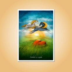 pohlednice Svoboda ve vztahu