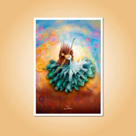 pohlednice Tanec