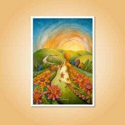 pohlednice Tvořím svůj život