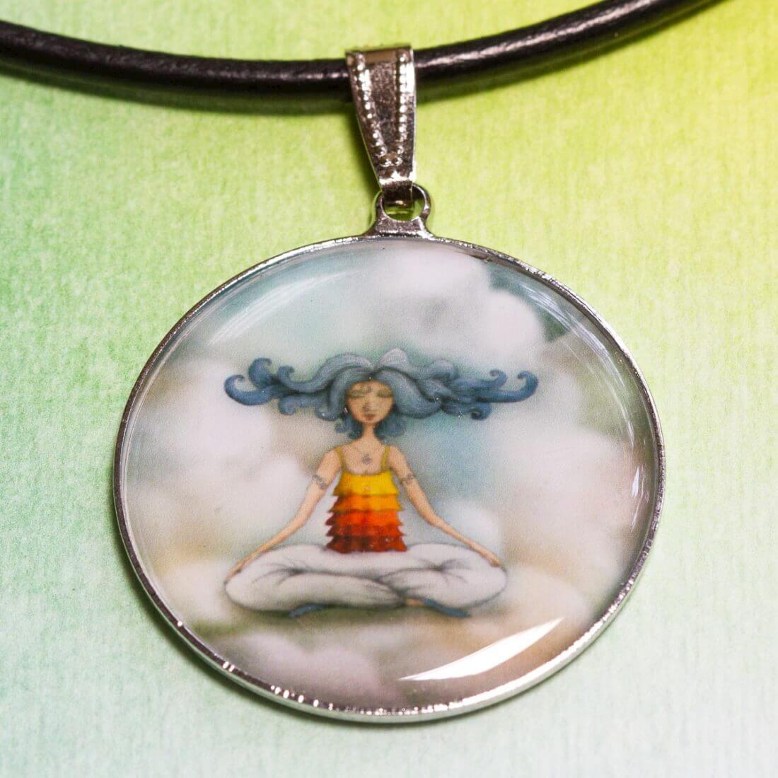 Přívěšek Meditace