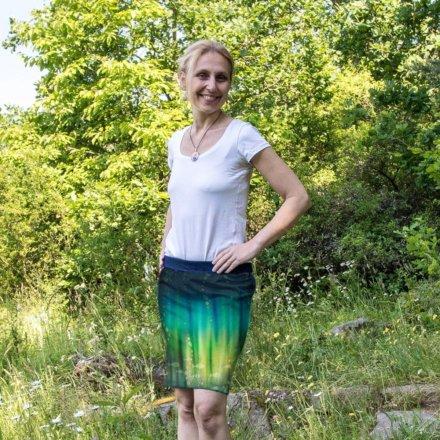 Sukně Hlubina - krátká