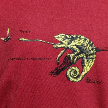 Tričko Chameleon - detail