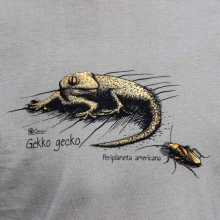 Tričko Gekon - detail