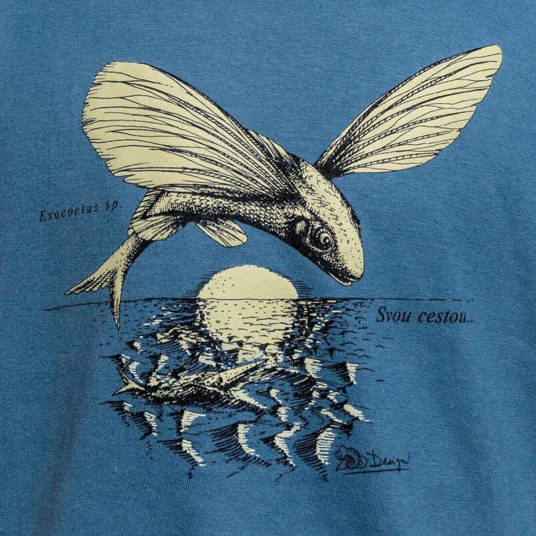 Tričko Ryba - detail