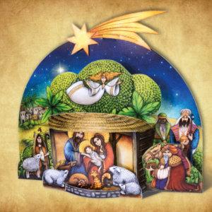 vystřihovánka Betlém