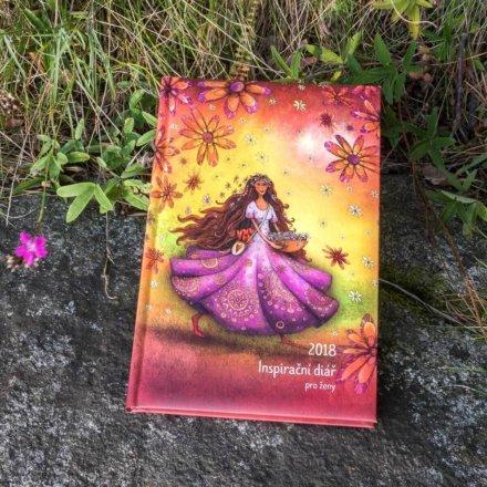 Inspirační diář pro ženy - Radost a láska