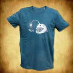 tričko Osvícení - petrolejová