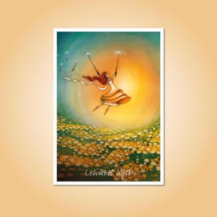 pohlednice Lehkost bytí