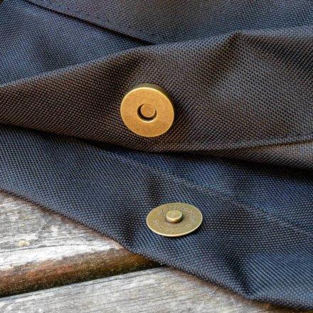 taška - detail zapínání