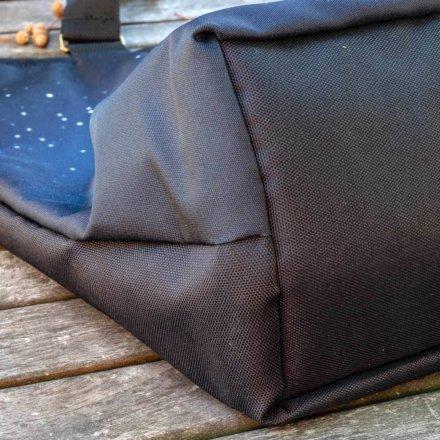 taška luxusní - detail - dno