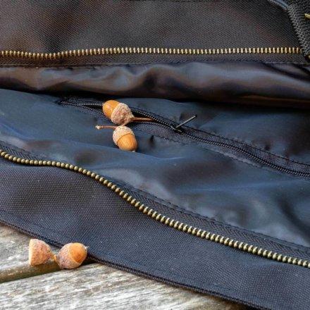 taška luxusní - detail - kapsa
