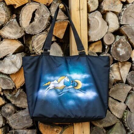 taška luxusní - Koně