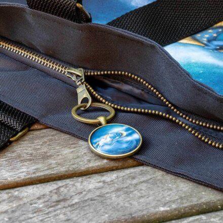 taška luxusní - Koně - detail
