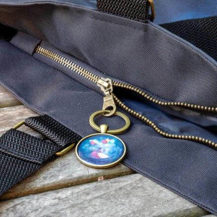 taška luxusní - Život mě baví - detail