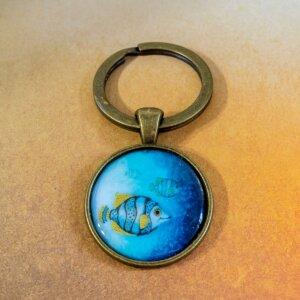 klíčenka Deep blue