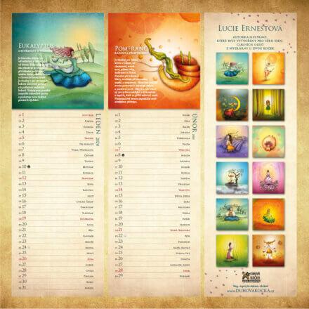 Aromakalendář 2020