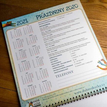 Rodinný kalendář 2020