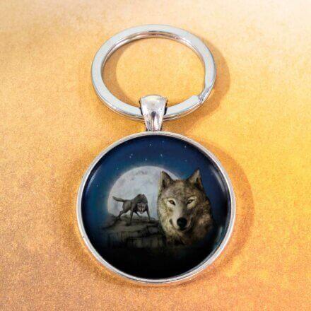klíčenka Vlk