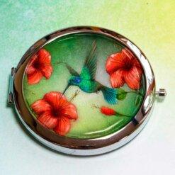 Luxusní zrcátko Kolibřík