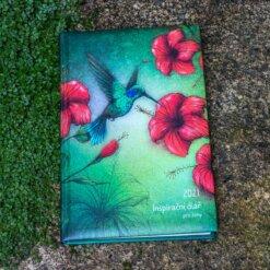Inspirační diář pro ženy - Kolibřík