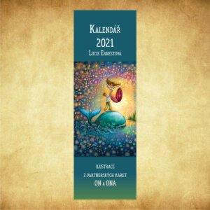 Kalendář kravata 2021