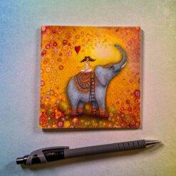 Minibloček Slon